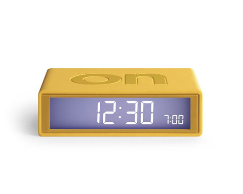 Flip Clock - Yellow
