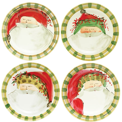 Vietri Old St. Nick Assorted Dinner Plate