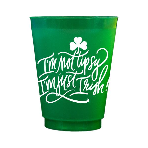 Emily McCarthy Green Tipsy Cups