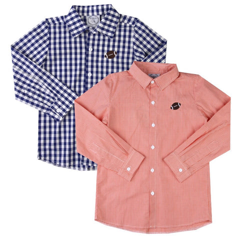 Graham Gingham Button Down Shirts