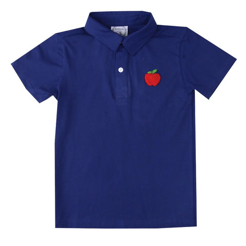 Andrew French Knot Apple Polo