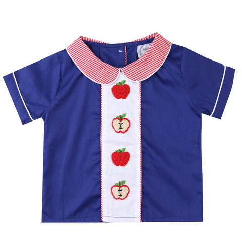 Alexander French Knot Apple Boy Top