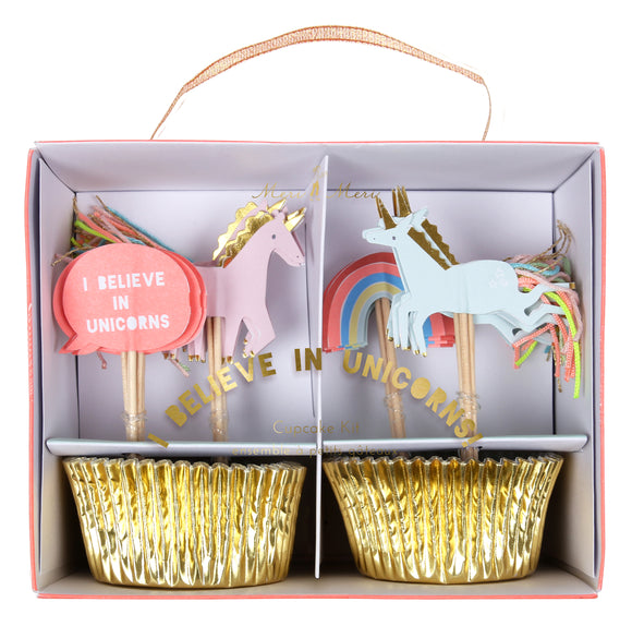 Unicorns Cupcake kit