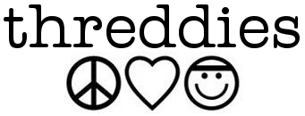 Threddies - peace, love and headbands!
