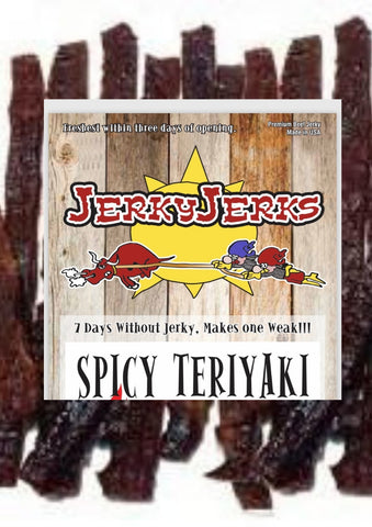 SPICY TERIYAKI JERKYJERKS 8oz