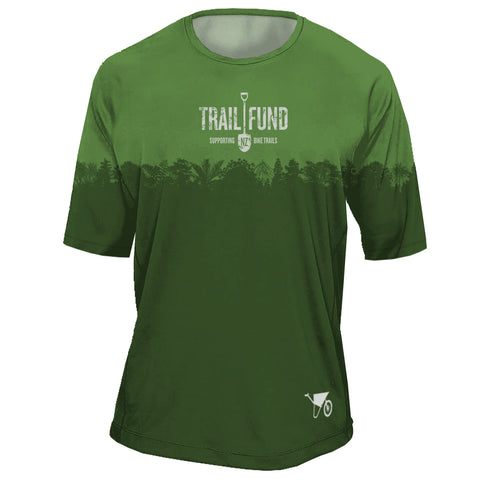 "Short Sleeve Men's Riding Top ""Treeline"""