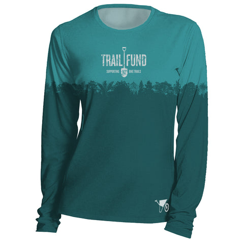 "Long Sleeve Women's Riding Top ""Treeline"""