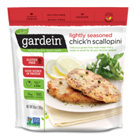 Gardein Chick'n Scallopini 285g - Vegan Pantry Brisbane