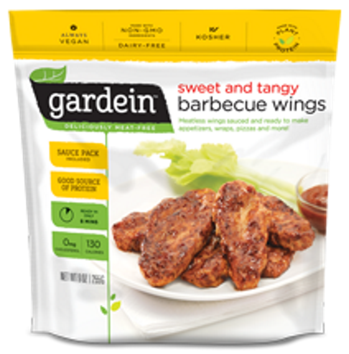 Gardein Sweet and Tangy BBQ Wings 255g - Vegan Pantry Brisbane