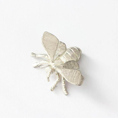 A sterling silver bee ornament with great detailing and all british made with hallmark
