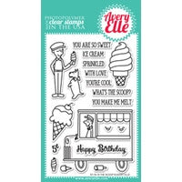 The Scoop Clear Stamps