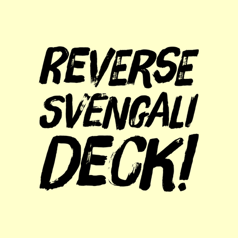 Bicycle Reverse Svengali Deck - Kaymar Magic