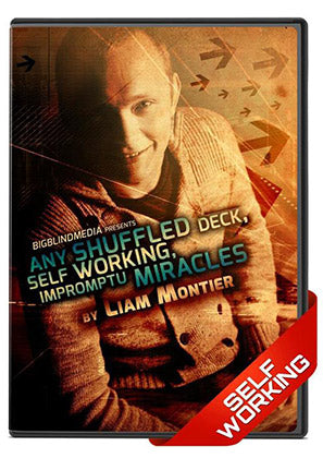 Any Shuffled Deck, Self Working, Impromptu Miracles DVD by Liam Montier - Kaymar Magic