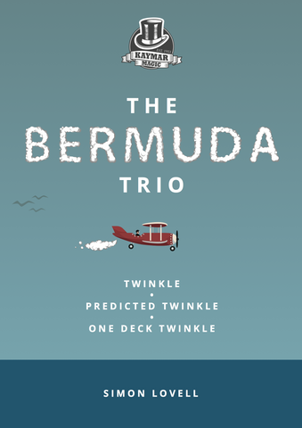 The Bermuda Trio booklet - By Simon Lovell - Kaymar Magic