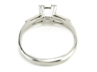 The Old Port Setting Semi-Mount Engagement Ring by Elizabeth Henry