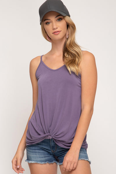 Modal Front Twist Cami