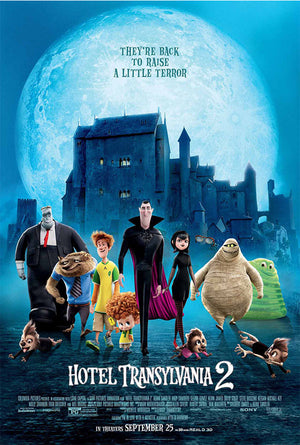Hotel Transylvania 2 UV HD or iTunes HD via Movies Anywhere
