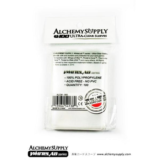 Alchemy Supply Card Sleeves: Mini Euro (100) - TOYTAG