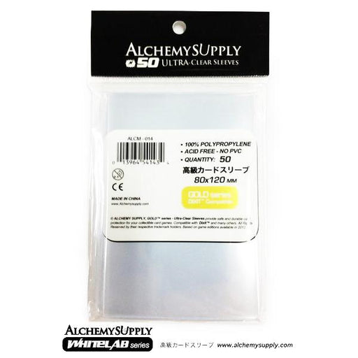 Alchemy Supply Premium Card Sleeves: Dixit Card Size (50) - TOYTAG