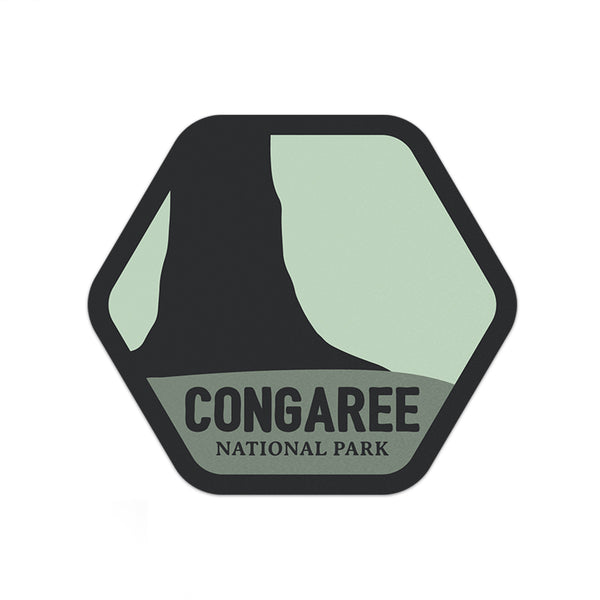 Congaree National Park Sticker | National Park Decal - National Park Life