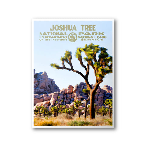 Joshua Tree National Park Poster - National Park Life