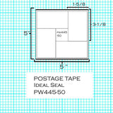 (7465252/9004570) - 4 Label Postage Sheets (445-50)