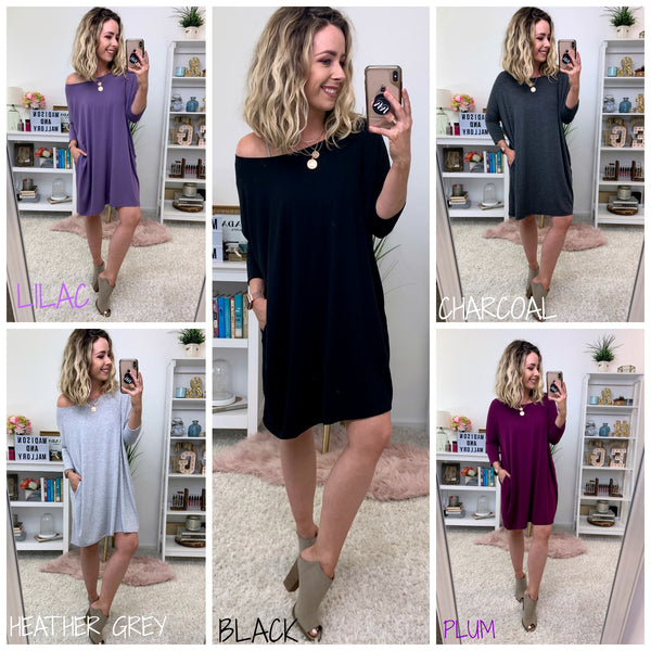 Brette Flowy Tunic Dress - FINAL SALE - Madison + Mallory