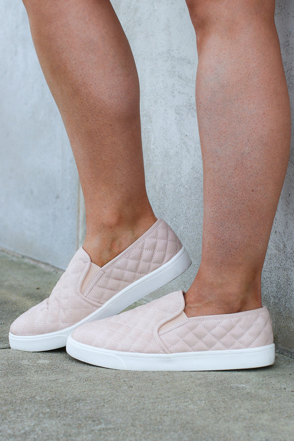 Ahead of Myself Quilted Sneakers - FINAL SALE - Madison + Mallory