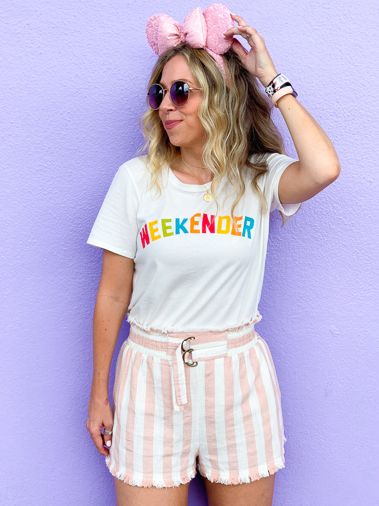 Weekender Graphic Top | CURVE - Madison + Mallory