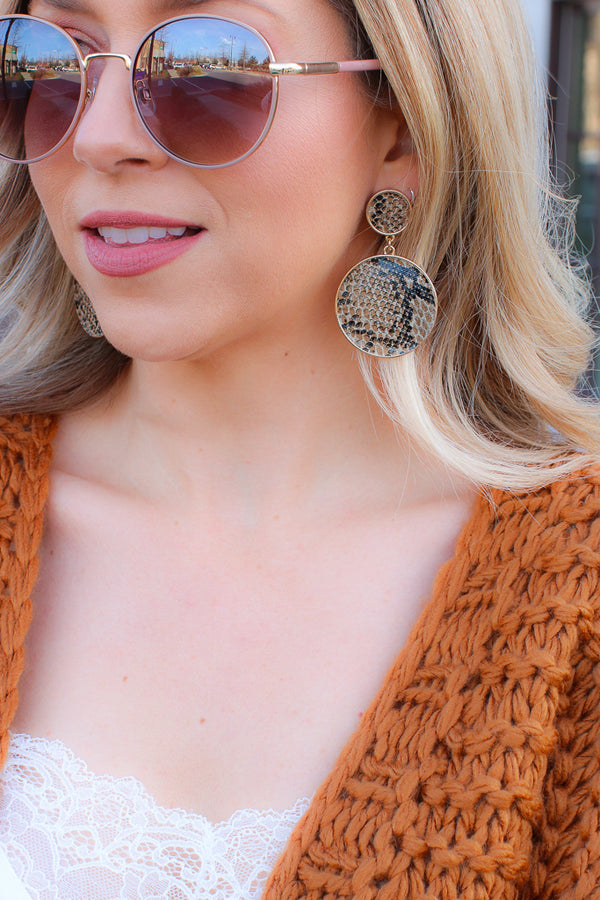 OS / Snake Living Legend Snake Earrings -  FINAL SALE - Madison + Mallory
