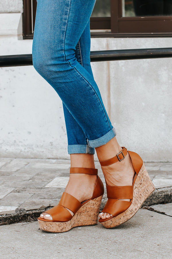 Making My Way Cutout Wedges - Madison + Mallory