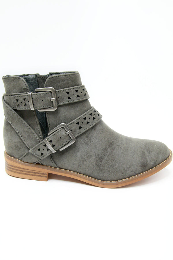 Mack Buckle Bootie - FINAL SALE - Madison + Mallory