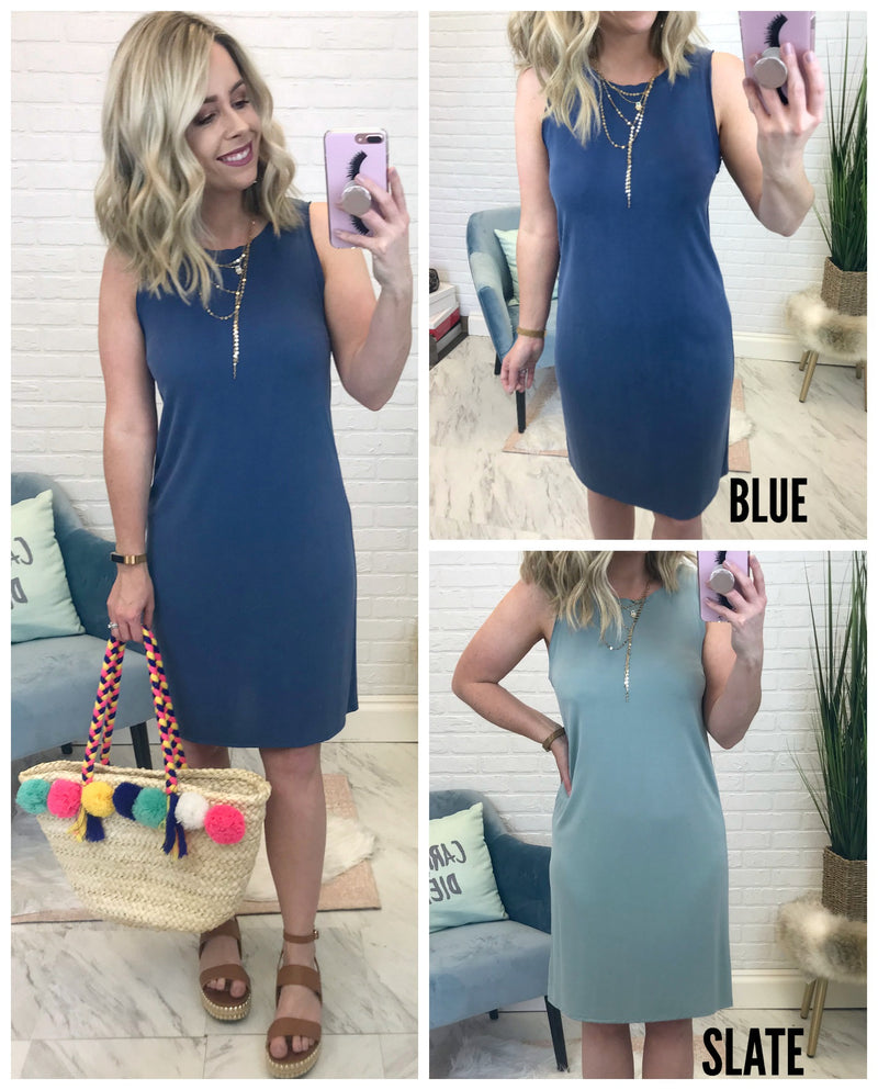 Olivia Tank Dress - Madison + Mallory