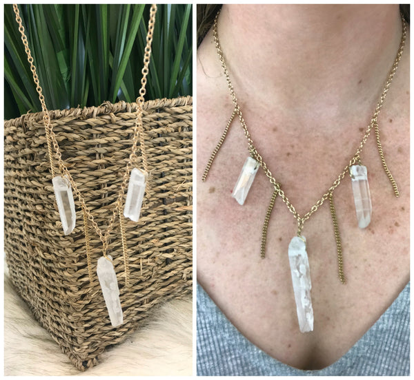 Found a Gem Necklace - FINAL SALE - Madison + Mallory