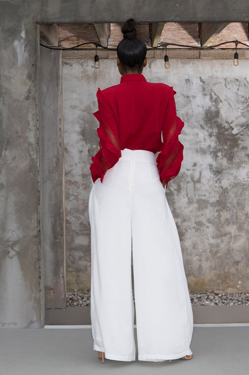'Evangeline' Wide Leg Pants