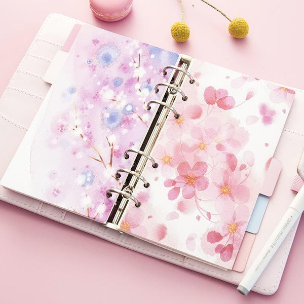 Cherry Blossom Planner Dividers