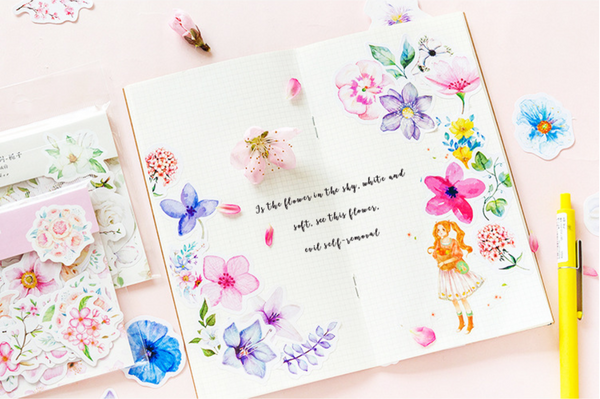 Floral Planner Stickers 12