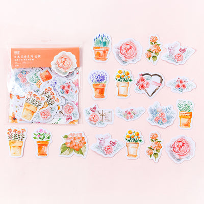 Floral Planner Stickers 22