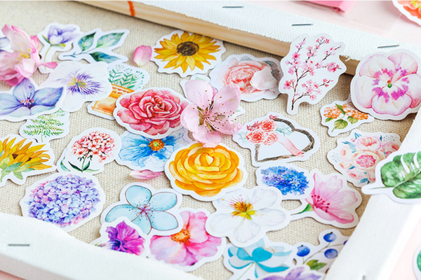 Floral Planner Stickers 10