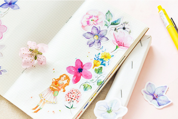 Floral Planner Stickers 11