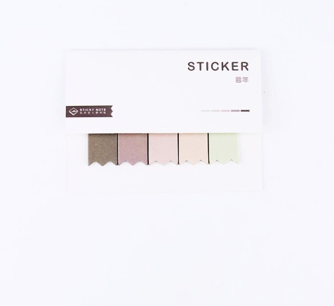 Gradient Color Index Sticky Notes 11