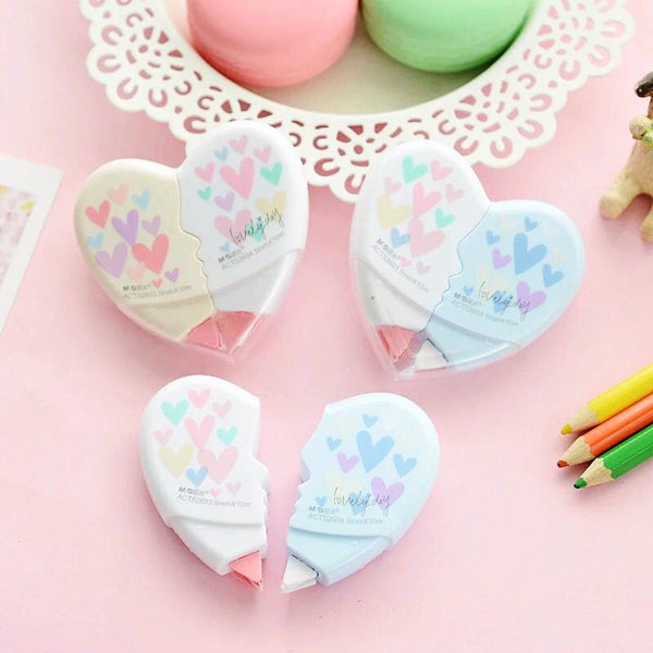 Heart Shaped Correction Tape 5