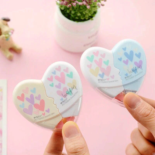 Heart Shaped Correction Tape 4