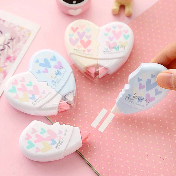 Heart Shaped Correction Tape 2