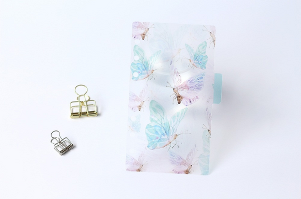 A5/A6 Watercolor Nature Planner Dividers 17