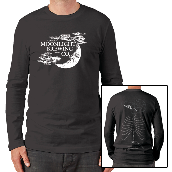 Men's Moonlight Brewing Long Sleeve T-Shirt