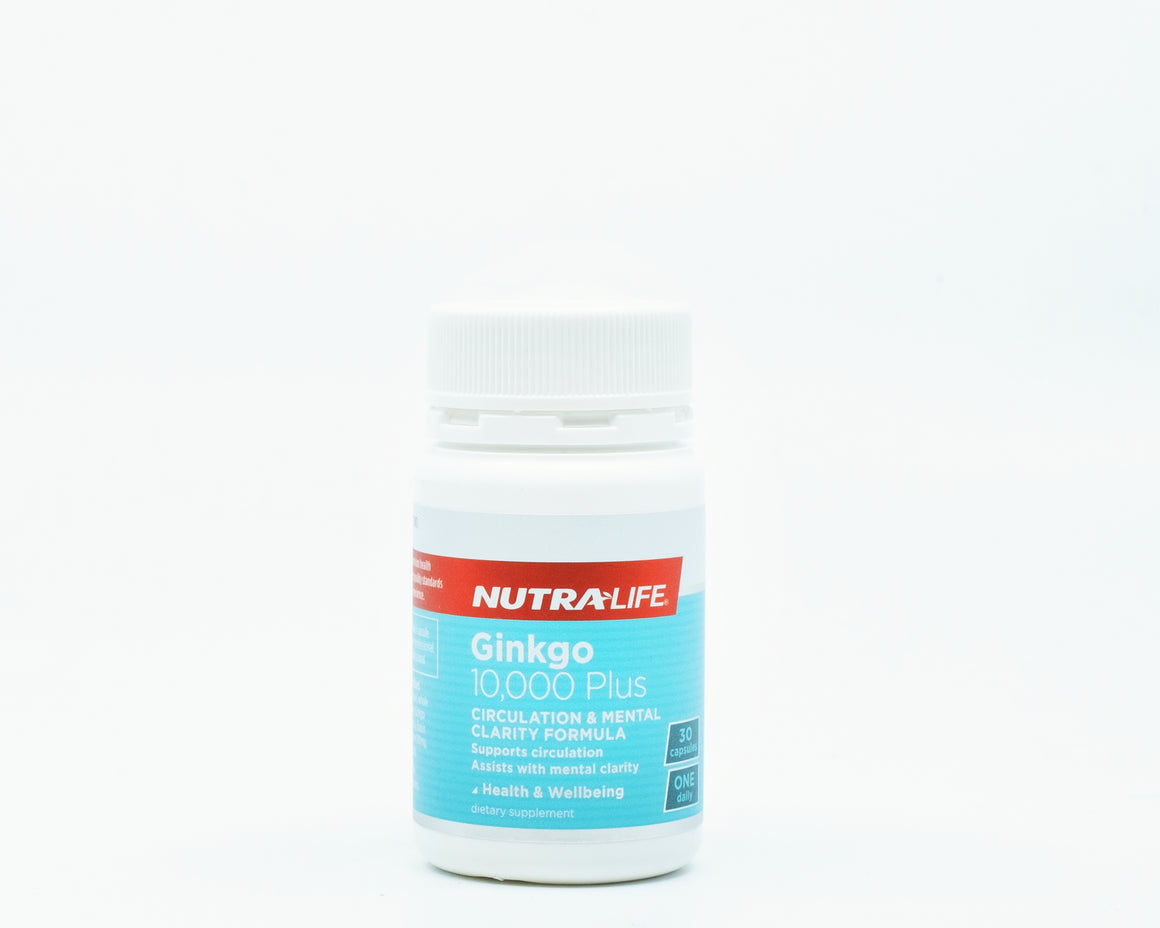 [Clearance] NutraLife Ginkgo 10,000 Plus - 365 Health Limited