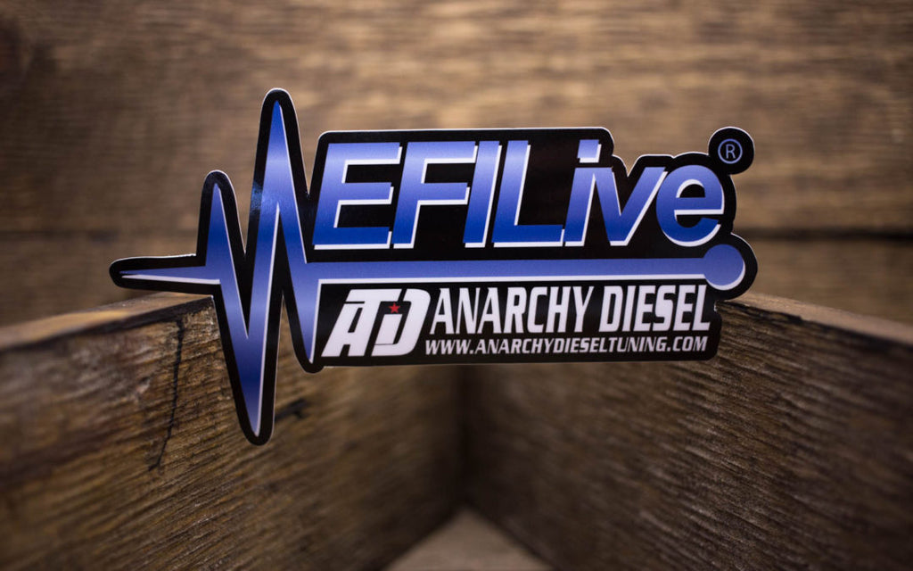 EFILive Anarch Diesel Glossy Stickers