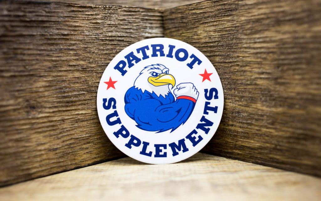 Patriot Supplements Matte Stickers