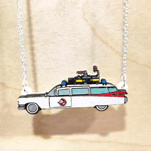 Ecto-1 Necklace